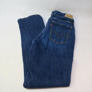 Levi's 505 Women's Sz 4 Straight Leg Jeans Denim